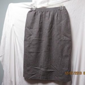 Alfred Dunner size 12 wool skirt